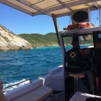 Arraial do Cabo num passeio de barco